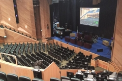 Convention Centre Auditorium - Countdown to Dáil Sitting