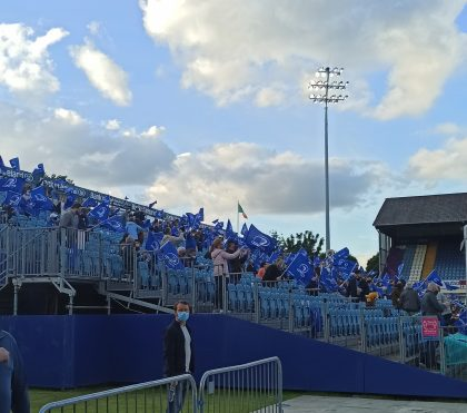 Leinster hold successful Pilot Game with Spectators in RDS