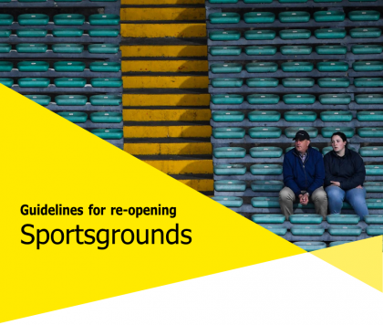 Guidelines to ReOpening Sports Grounds published