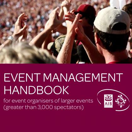IRFU Event Management Handbook